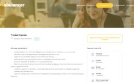 Freelance Opdracht Process Engineer Fabulancer